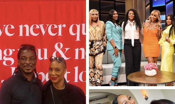 "Tamar Braxton Apologizes To Sisters & 'The Real' + Her Boyfriend Says When They Met She Was ""Almost Completely Broken"""