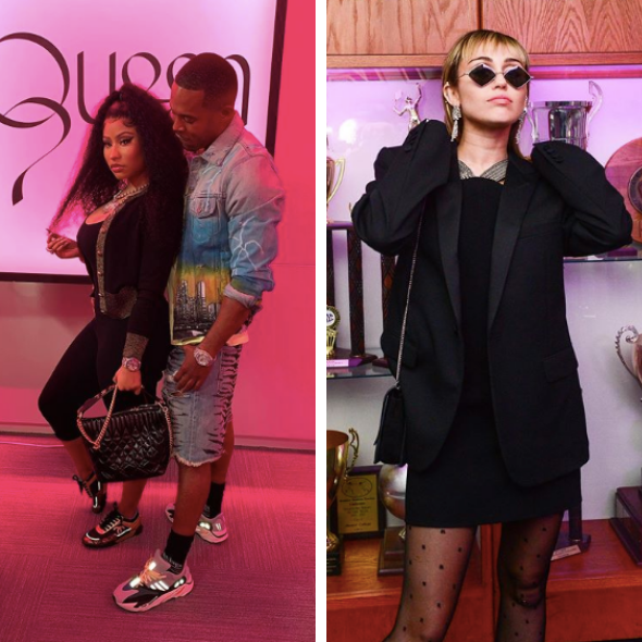 Nicki Minaj Reveals She's Getting Married To Boyfriend + Addresses Miley Cyrus' Diss: She Disrespected Me For No Reason & Saying My Name For Clout!
