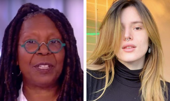 Bella Thorne Cries While Canceling Appearance On 'The View', Blames Whoopi Goldberg's Comments About Her Nude Photos [VIDEO]