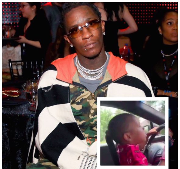 "Young Thug Responds To Viral Video Of His Young Daughter Driving, ""Never Would I Put My Child's Life In Danger"" [VIDEO]"
