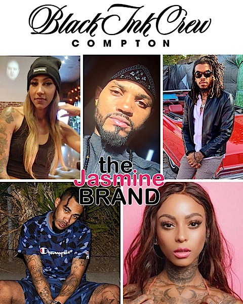 """Black Ink Crew: Compton"" Spin-Off Cast Revealed"