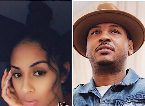 Carmelo Anthony's Alleged Baby Mama Laughs When Asked If NBA Star Will Reveal Their Daughter To The Public