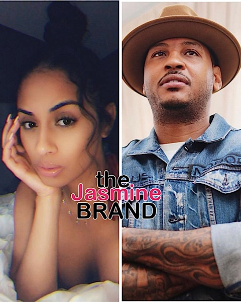 Carmelo Anthony Spotted Vacationing W/ Mystery Woman, Releases Statement + Alleged Baby Mama Accuses Him Of Not Spending Time W/ Their Daughter [VIDEO]