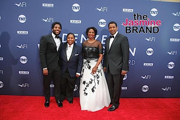 Issa Rae, Paula Patton, Ava Duvernay, Cicely Tyson, Chadwick Boseman, Spike Lee & Denzel Washington [Celebrity Photos]