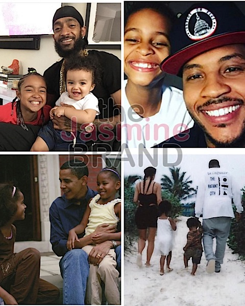 Stars Celebrate Father's Day: Michelle Obama, Ciara, Kevin Hart, Ayesha Curry, NeNe Leakes, Eva Marcille