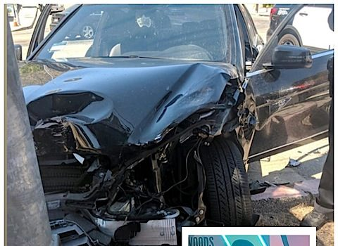 Jordyn Woods' Brother In Car Accident [Photo]