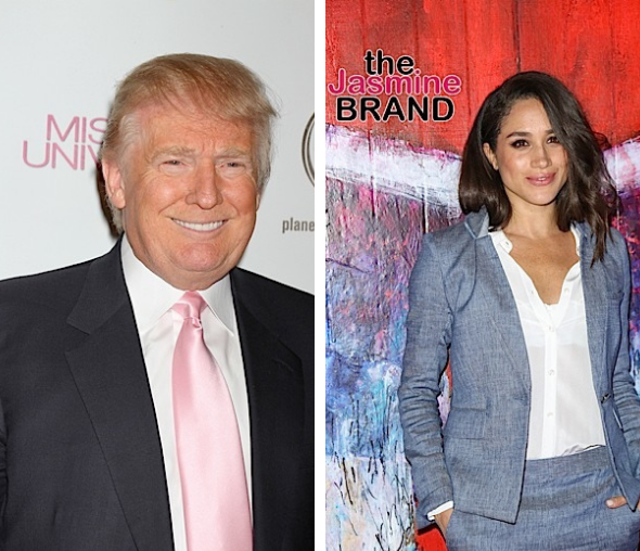 Donald Trump Says He's 'Not A Fan' Of Meghan Markle, Amid Her And Prince Harry Seemingly Endorsing Joe Biden