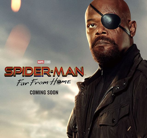 "Samuel L. Jackson Reacts to Flubbed ""Spider-Man"" Movie Posters: ""What The F**k Is Going On Here?"""