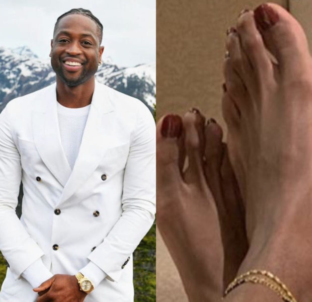 Dwyane Wade Shows Off His Perfect Pedicure, With Freshly Painted Red Toes