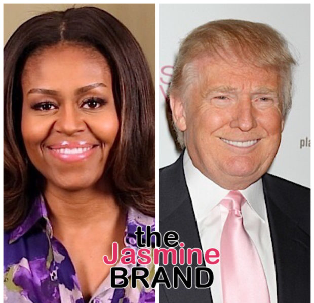 Michelle Obama Says: Donald Trump Spread Racist Lies About My Husband & Put My Family In Danger