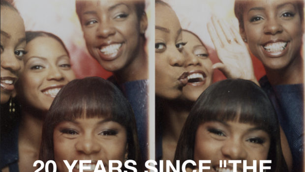 "Beyoncé Celebrates 20th Anniversary Of Destiny's Child's ""The Writing's On The Wall"""
