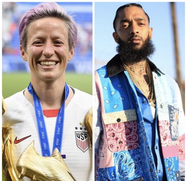 US Women's Soccer Team Wins Gold, Megan Rapinoe Pays Homage To Nipsey Hussle
