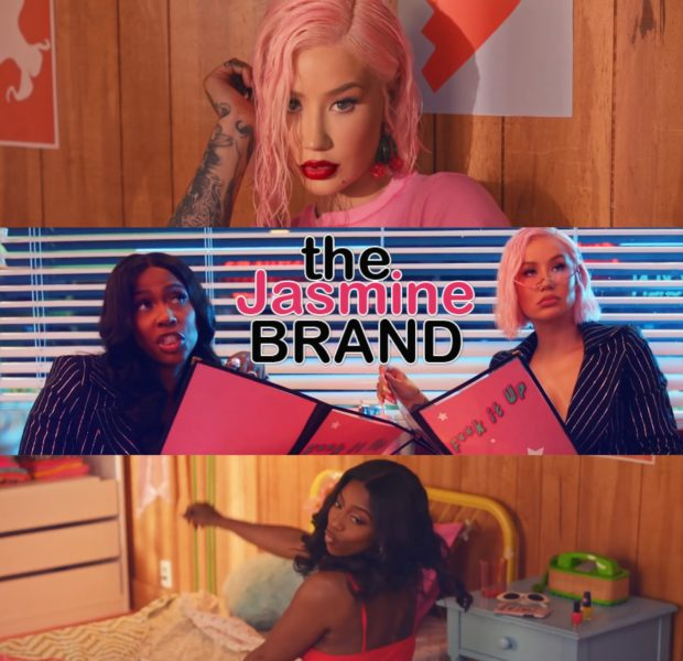 "Iggy Azalea & Kash Doll Have An Epic Class Reunion In ""F*ck It Up"" Video"