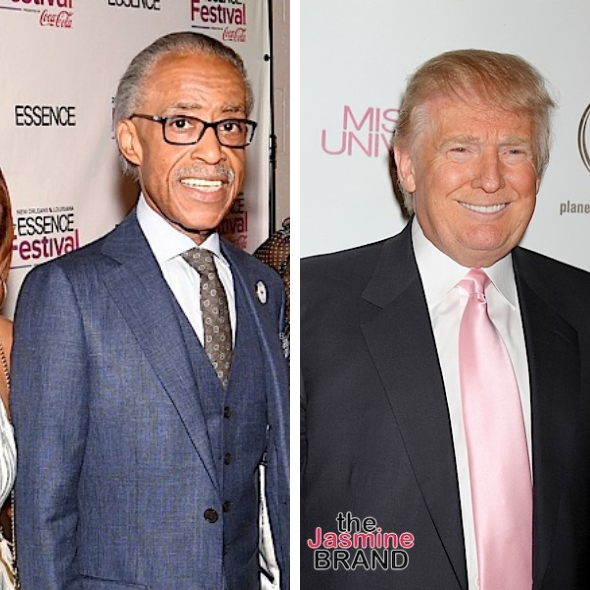 Donald Trump Says Sharpton Is A 'Con Man' & 'Hates Whites'
