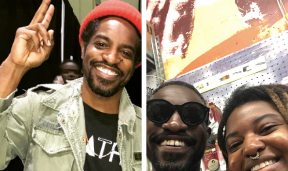 Andre 3000 Spotted Playing The Flute In A Craft Store [Photos]