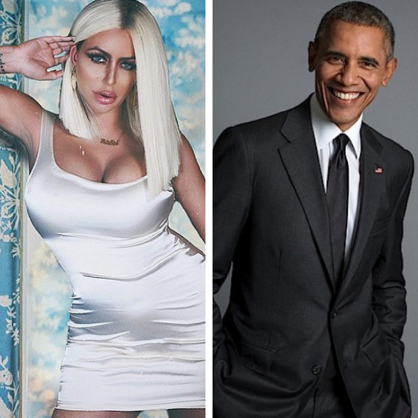 Aubrey O'Day Wants Barack Obama To Be Her Sperm Donor: 'He's Everything That A Great Woman Deserves'