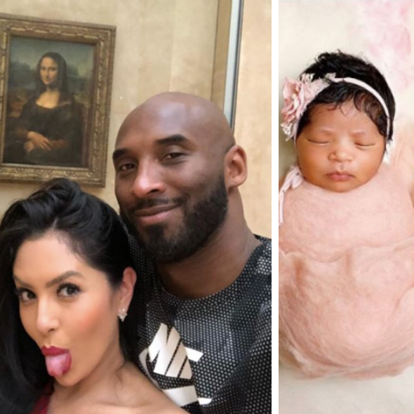 Kobe Vanessa Bryant Share 1st Photo Newborn Daughter