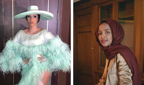 Cardi B Shows Love To Ilhan Omar After Trump Supporters Chant 'Send Her Back'