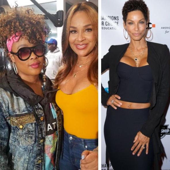 Da Brat & LisaRaye Call Out Nicole Murphy For Cheating With LisaRaye's Ex-Husband 'She Messed With My Husband!'