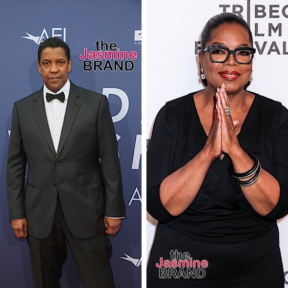 Denzel Washington Gives $1 Million To College Debate Team, Oprah Donates $22.5 Million In Company Stake To Her Foundation