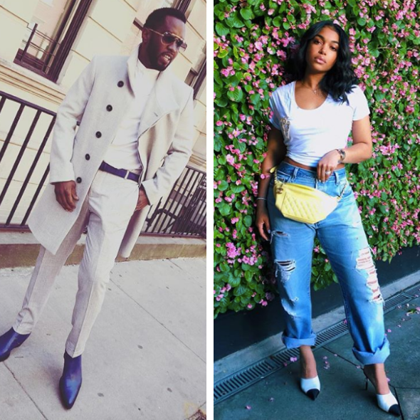 New Photos Of Diddy & Lori Harvey Fuel Rumors That They're Dating