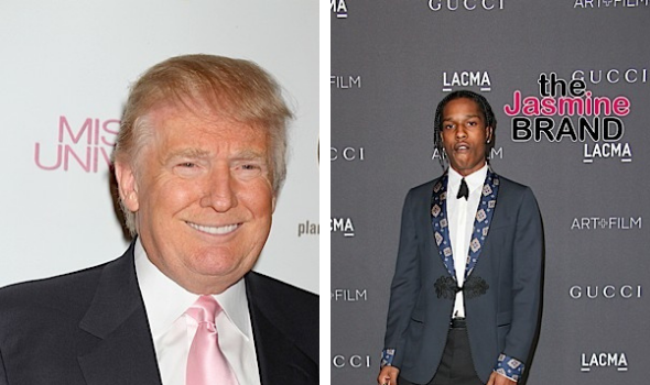 A$AP Rocky Slammed By Trump Supporter For Not Thanking President After Jail Release