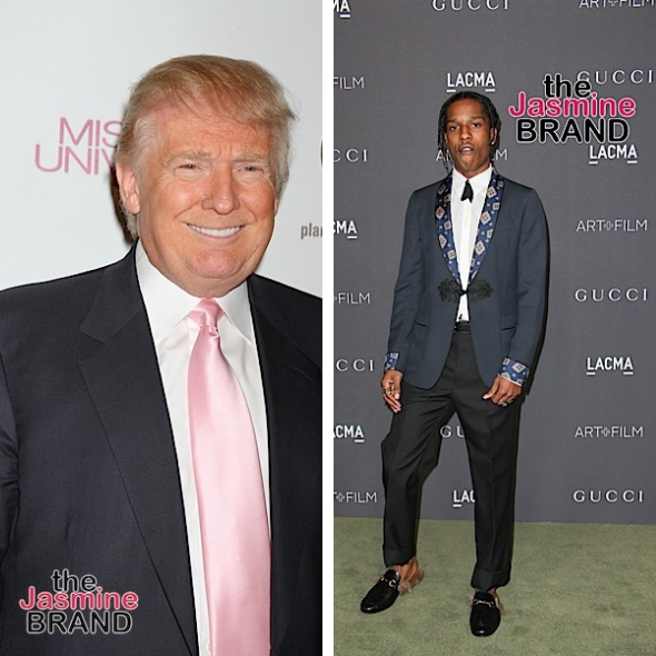 Donald Trump Calls Out Sweden For Not Releasing A$AP Rocky 'Sweden Has Let Our African American Community Down'