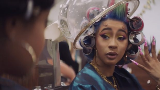 Cardi B's Nails Have A Mind of Their Own In New Reebok Commercial [VIDEO]