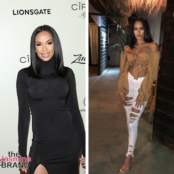 Erica Mena And 'Love & Hip Hop Miami's' Gabrielle Davis Continue To Hurl Insults After Fallout Over Safaree Samuels