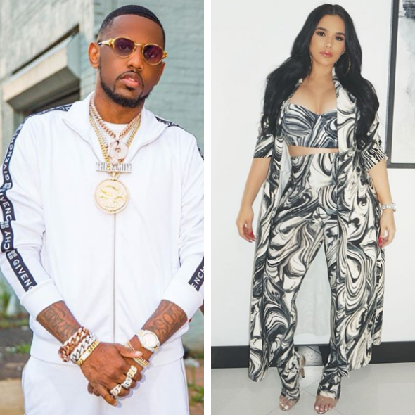 Fabolous Denies Cheating On Emily B After Being Seen With Another Woman, Says 'We're Working On Our Relationship'