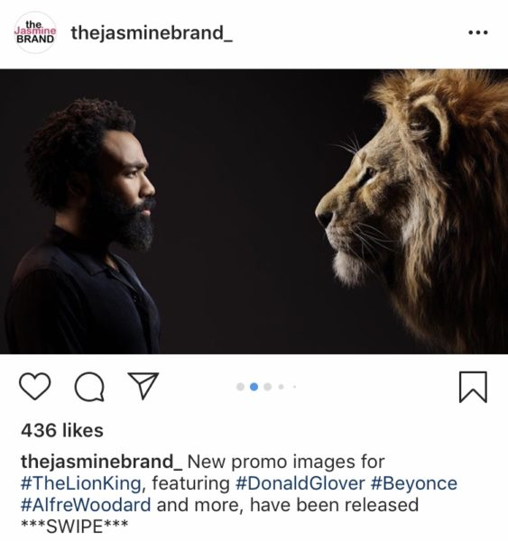 Lion King All Cast Photo Released Donald Glover Beyonce