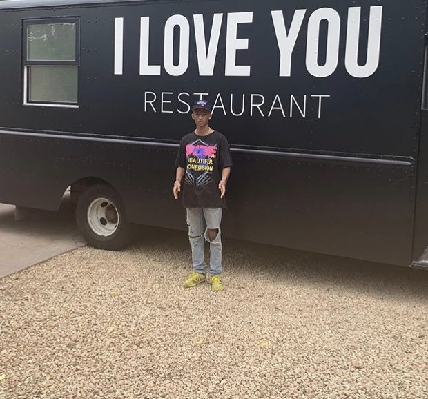 "Jaden Smith Launches Free Vegan Food Truck Called the ""I Love You Restaurant"""