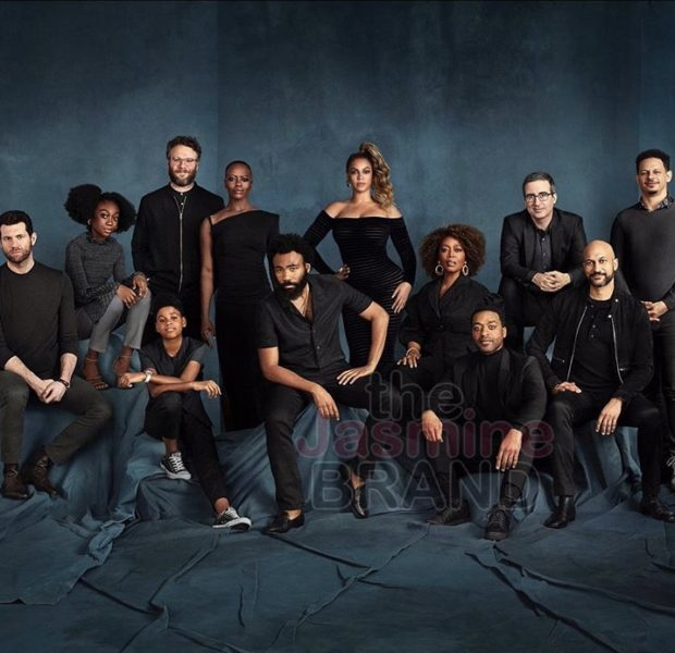 """Lion King"" All-Cast Photo Released: Donald Glover, Beyonce, Alfre Woodard, Seth Roger"