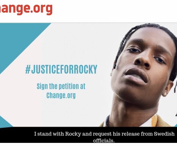 A$AP Rocky Petition Started To Have Him Released From Swedish Jail [#JusticeForRocky]