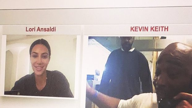 Kim Kardashian Video Chats With Death Row Inmate Kevin Keith [Photo]