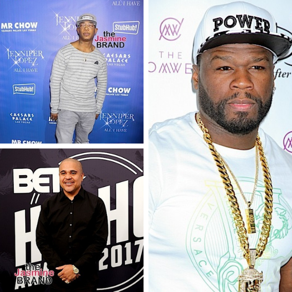 Ja Rule & Irv Gotti Clash w/ Club Bouncers While Filming 'Growing Up Hip Hop', 50 Cent Taunts Them