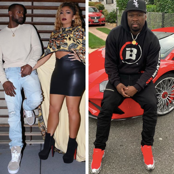 50 Cent Trolls Jackie Long Over His Romance With Angel Brinks