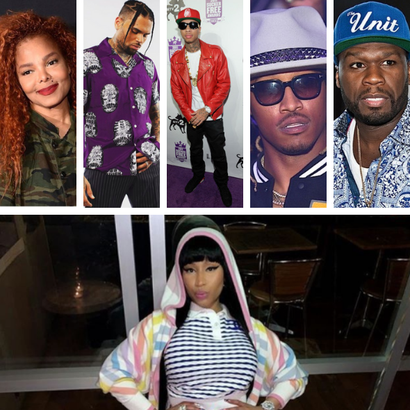 Janet Jackson, Chris Brown, Tyga, Future & 50 Cent Called Out For Performing At Festival In Saudi Arabia, Nicki Minaj Praised For Dropping Out