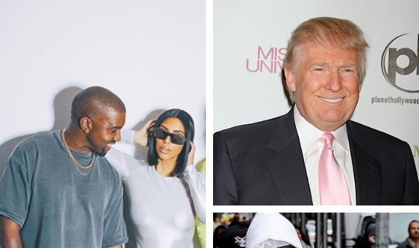 Kim Kardashian & Kanye Lobby White House To Get A$AP Rocky Released From Prison