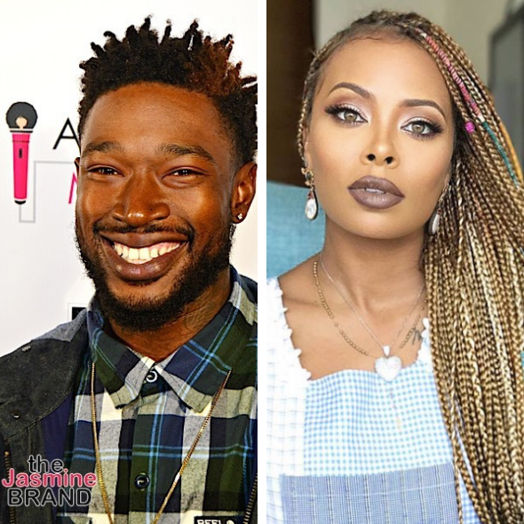 Kevin McCall Shares Vintage Photo W/ Ex Eva Marcille: Get A Woman That Can Model & Do Your Feet