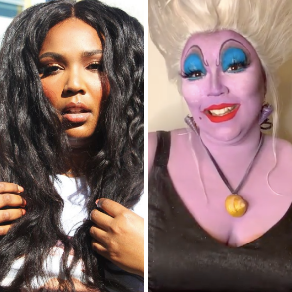 Fans Start Petition For Lizzo To Be Cast As Ursula In 'The Little Mermaid' Remake