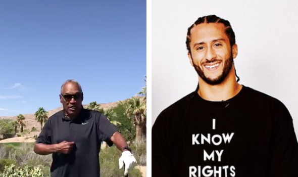 O.J. Simpson Reacts To Nike Removing Flag Sneakers Over Colin Kaepernick: 'As Far As I'm Concerned, That Flag Represents The Burden Of America'