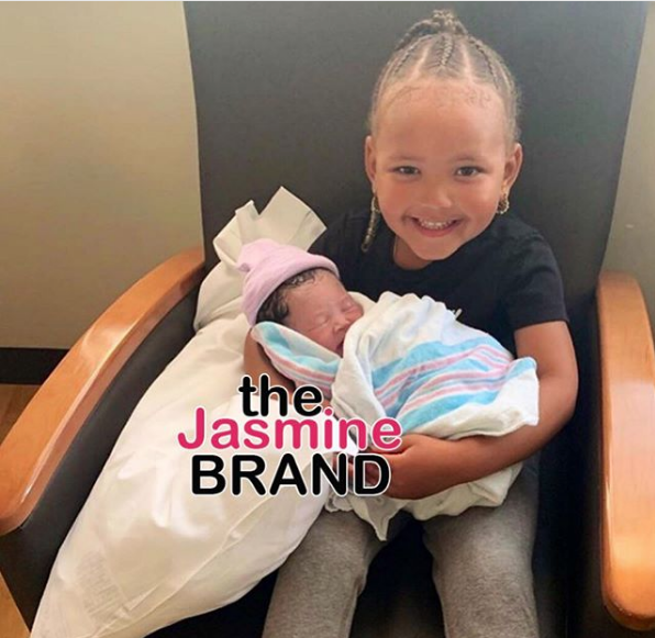 Rapper YG Welcomes Newborn Daughter, Vibe Jackson [Photo]