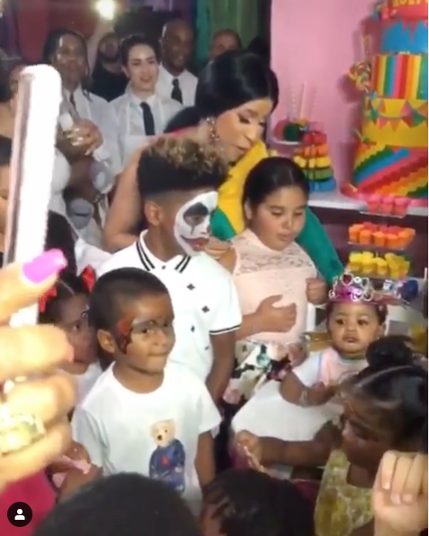 Cardi B & Offset Throw Epic 1st B-Day Party For Daughter Kulture, Spending $400k! [VIDEO]