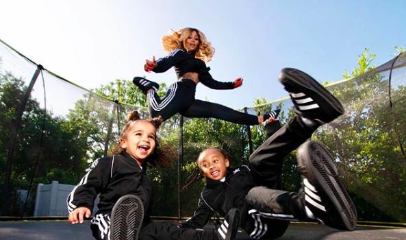 Blac Chyna Shares 7 Things Every Child Needs To Hear, As She Poses W/ Kids King Cairo & Dream Kardashian [Photos]