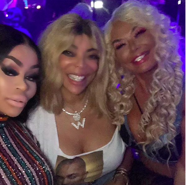 Wendy Williams Parties W/ Blac Chyna & Madina Milana For Her 55th Birthday [PHOTOS]