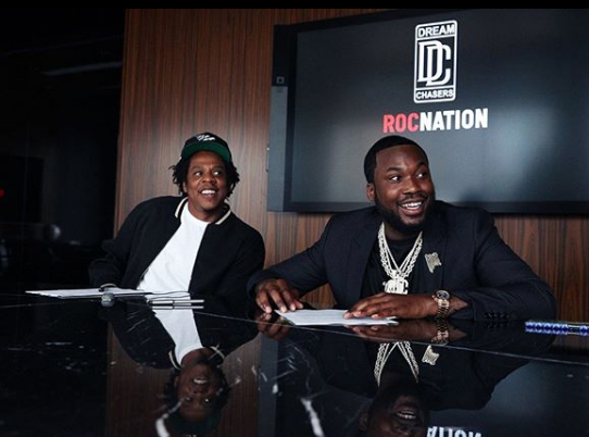 Meek Mill Partners W/ Jay-Z's Roc Nation To Launch Dream Chasers Label
