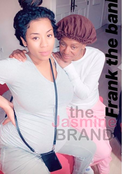 Keyshia Cole Reunites With Mom Frankie