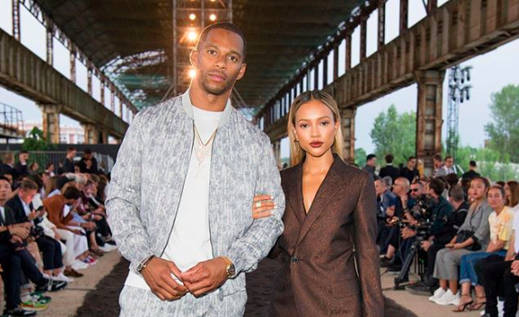 Karrueche Tran Says She's Never Been In Love Like This Before, Adds There's 'Potential' For Her & Victor Cruz To Get Married