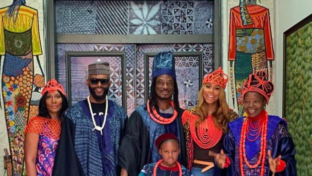 Tamar Braxton Travels To Nigeria To Meet Boyfriend David Adefeso's Family